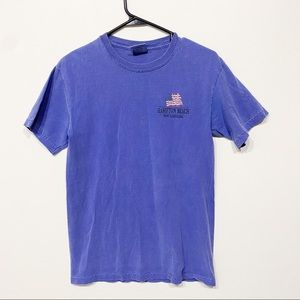 Comfort colors blue size small tee